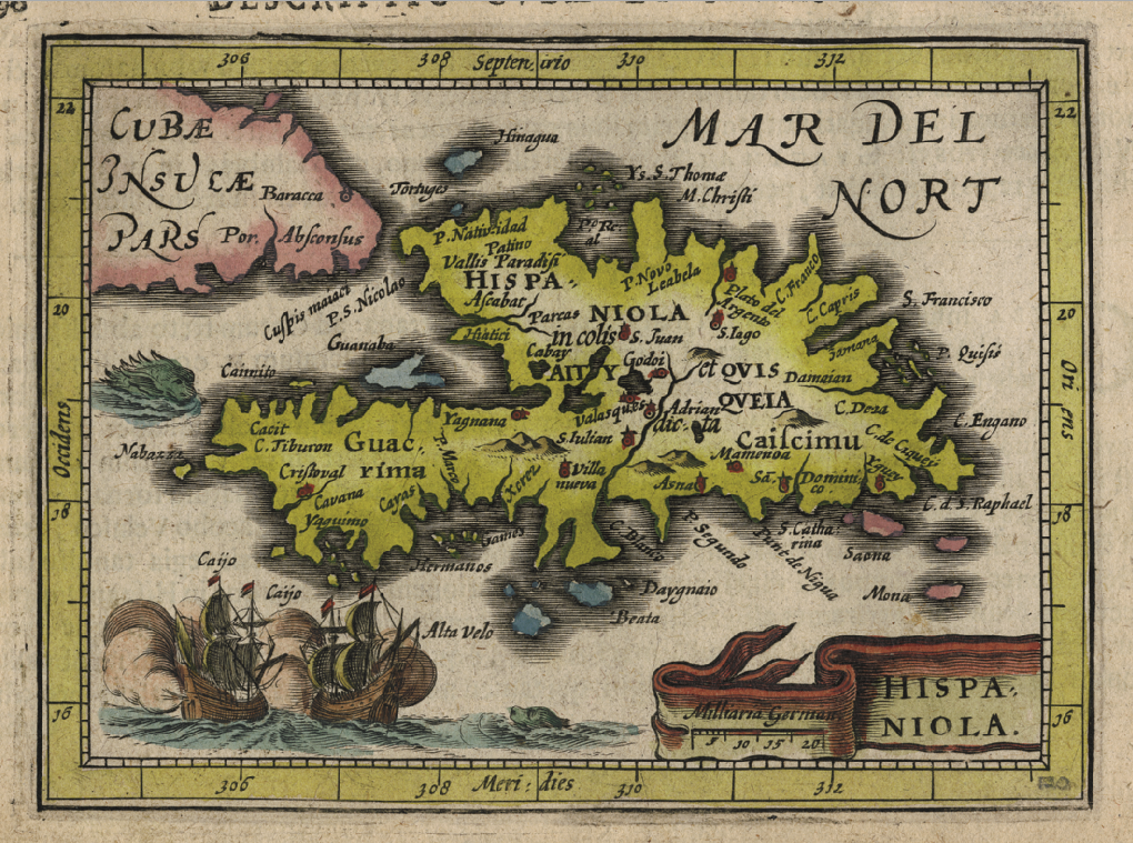 Hispaniola – Copper Engraving 1616